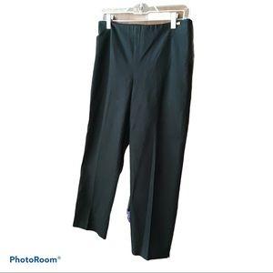 St. John Sport Black Capri Pants Size 2